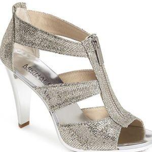 NEW MICHAEL Michael Kors Berkley T-strap Sandal